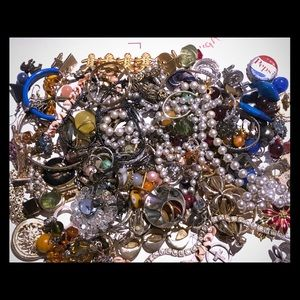 Vintage Craft junk jewelry